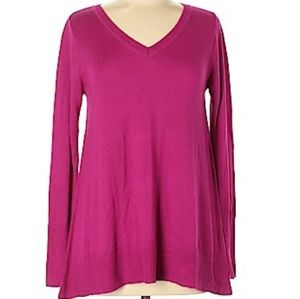 The Limited Pink V-neck Sweater. Size S